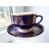 Набор чашек для чая или кофе кобальт