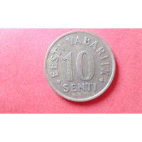 10 Сентов 1992 Эстония