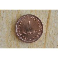 Гвинея-Бисау 1 эскудо 1973!!!