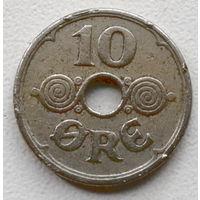 Дания 10 эре 1929