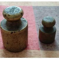 Гирьки латунные (2 шт. одним лотом)