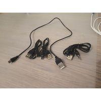 Зарядный USB кабель для входа miniUSB