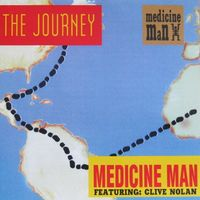 Medicine Man - The Journey (1995, Audio CD, нео-прог)