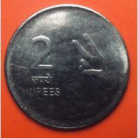 25-14 Индия, 2 рупии 2008 г.