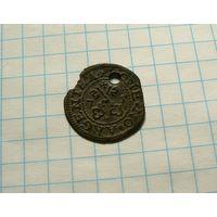 Шиллинг 1575 Вольный город Рига