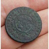 3 гроша 1766 г. Не чищена.