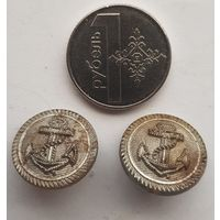 С 1 Рубля Без МЦ Две Морские пуговицы Фуражка Офицер Германия 1942