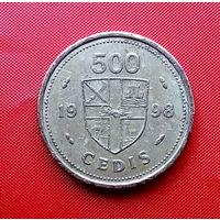 84-03 Гана, 500 седи 1998 г.