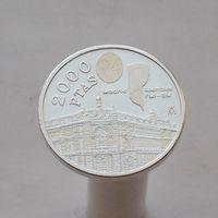 Испания 2000 песет 1994 Ассамблея Всемирного банка и МВФ в Мадриде