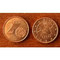 Эстония, 2 евроцента 2015