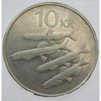 Исландия 10 крон 1984 год