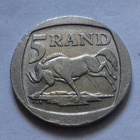5 рандов, ЮАР 1995 г.
