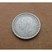 Швеция, 1 крона 1949 г., серебро, Густав V (1907-1950)
