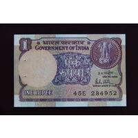 Индия 1 рупия 1981 UNC