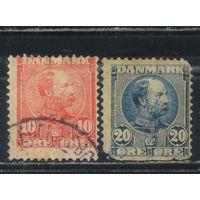 Дания 1904 Кристиан IX Стандарт #48II,49