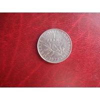 1 франк 1973 Франции