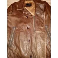 Кожаная куртка David Moore