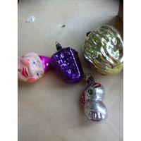 Елочные игрушки ссср