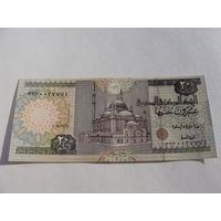 Египет. 20 фунтов 2004 год UNC
