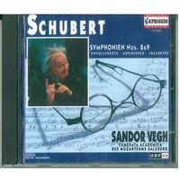 CD Franz Schubert, Sandor VEGH - Symphonien No 8&9 (1994)
