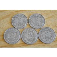 Франция 2 франка