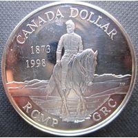 Канада. 1 доллар 1998. Серебро. 402