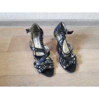 Босоножки, туфли, размер 37, черные, Amisu.
