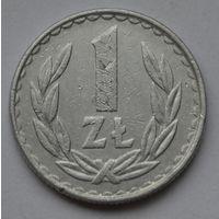 Польша 1 злотый, 1983 г.