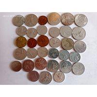 Монеты Литва с рубля.