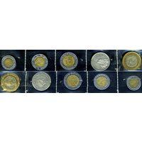 Мексика, комплект из 5 монет