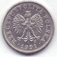 Польша, 10 грошей 1991 года.