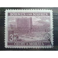 Богемия и Моравия 1939 фабрика в Злине