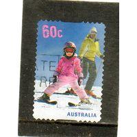 Австралия.  Mi:AU 3601. Лыжи для детей. 2011.