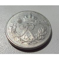 10 эре Дания 1958 г.в. KM# 841.2, 10 ORE, из коллекции