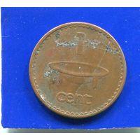 Фиджи 1 цент 1994