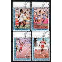 Победители Олимпийских игр в Лос-Анжелесе Кот-д'Ивуар 1984 год серия из 4-х марок