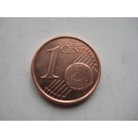 БЕЛЬГИЯ 1 ЕВРОЦЕНТ 1999 ГОД