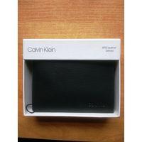 Calvin Klein кошелек (бумажник),новый, кожа. Оригинал из США.