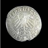СИЛЕЗИЯ-ЛЕГНИЦА-БЖЕГ  ГРОШ 154Z Г. (1542) ФРИДРИХ II ВЕЛИКИЙ ГЕРЦОГ ЛЕГНИЦКИЙ (1488-1547). .