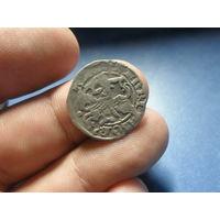 Полугрош Александр Ягеллончик (1492-1506) Вильно. aв,рв реннесансная легенда нечастый тройной хвост коня