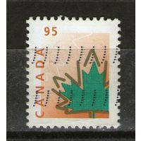 Канада. Михель- 1738. Гашеная.