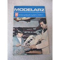 """Журнал """"MODELARZ"""" (""""МОДЕЛИСТ""""). Польская народная республика, 1977 год. Номер 9."""