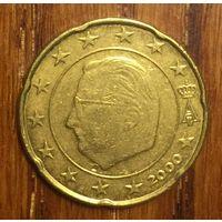 Бельгия, 20 евроцентов 2000