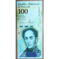 100000 боливаров 2017 года (13.12.2017) - Венесуэла - UNC