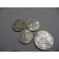 Квотеры США штаты+ бонус