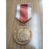 Медаль За заслуги по защите страны.3 степень. Польша