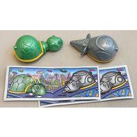 Мышь и черепаха, Техно животные, Серия 1999г
