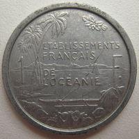 Океания Французская 1 франк 1949 г.