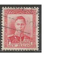 Новая Зеландия. Король Георг VI. 1938г. Mi#238.