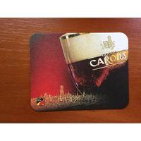 Подставка под пиво Carolus /Бельгия/